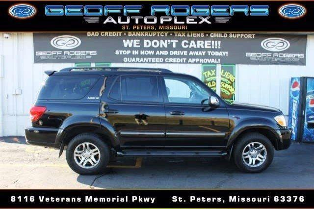 2007 toyota sequoia limited for sale in saint peters missouri classified. Black Bedroom Furniture Sets. Home Design Ideas
