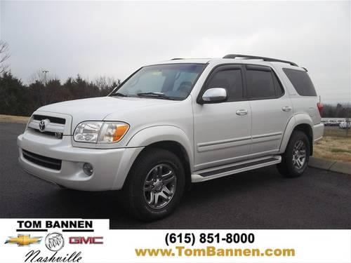 2007 toyota sequoia suv limited v8 4wd w sunroof for sale in am qui tennessee classified. Black Bedroom Furniture Sets. Home Design Ideas
