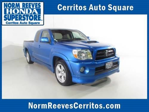 2007 toyota tacoma pickup truck 2wd access v6 mt x runner for sale in artesia california. Black Bedroom Furniture Sets. Home Design Ideas