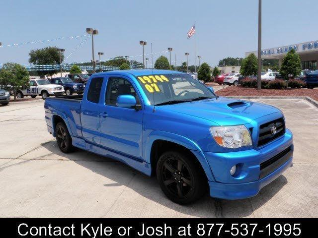 2007 toyota tacoma x runner access cab for sale in yulee. Black Bedroom Furniture Sets. Home Design Ideas