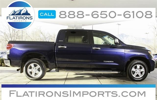 2007 Toyota Tundra Limited Limited 4dr CrewMax Cab 4x4