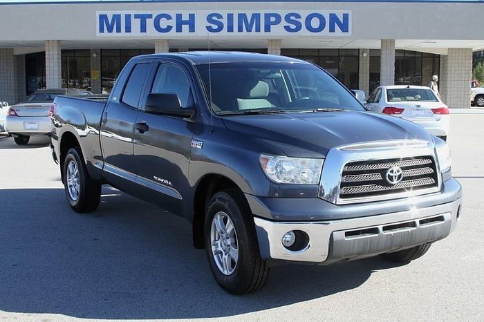 2007 toyota tundra sr5 double cab 147k new tires perfect carfax for sale in cleveland georgia. Black Bedroom Furniture Sets. Home Design Ideas