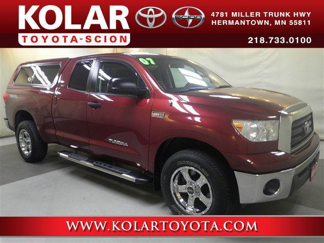 2007 toyota tundra sr5 sr5 4dr double cab 4wd sb 5 7l v8 for sale in duluth minnesota. Black Bedroom Furniture Sets. Home Design Ideas