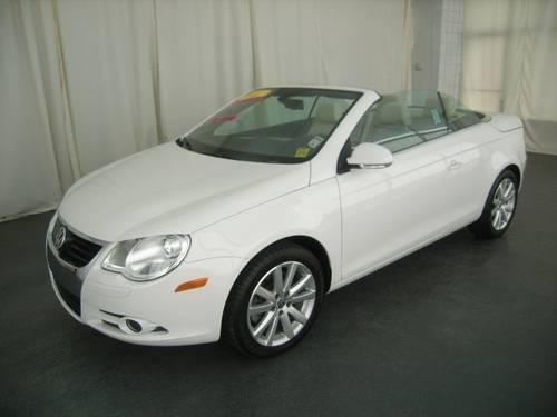 2007 volkswagen eos 2dr front wheel drive convertible 2 0t 2 0t for sale in sand city. Black Bedroom Furniture Sets. Home Design Ideas