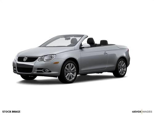 2007 volkswagen eos convertible 2 0t for sale in spartanburg south carolina classified. Black Bedroom Furniture Sets. Home Design Ideas