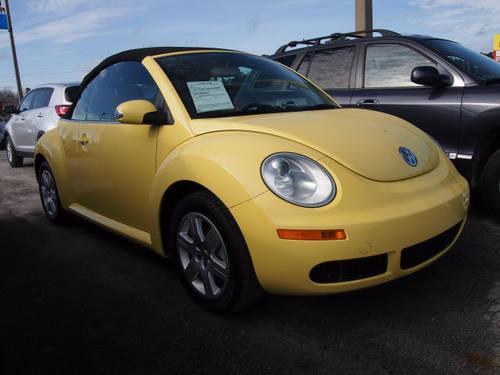 2007 Volkswagen New Beetle Convertible Convertible Pkg1 ...