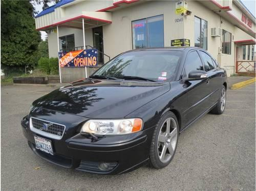 2007 volvo s60 car r sedan 4d for sale in tacoma washington classified. Black Bedroom Furniture Sets. Home Design Ideas