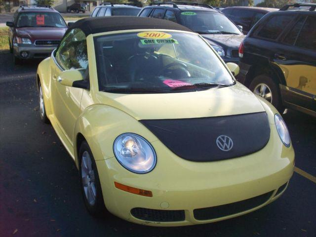 2007 vw beetle convertible yellow auto for sale in apopka florida classified. Black Bedroom Furniture Sets. Home Design Ideas