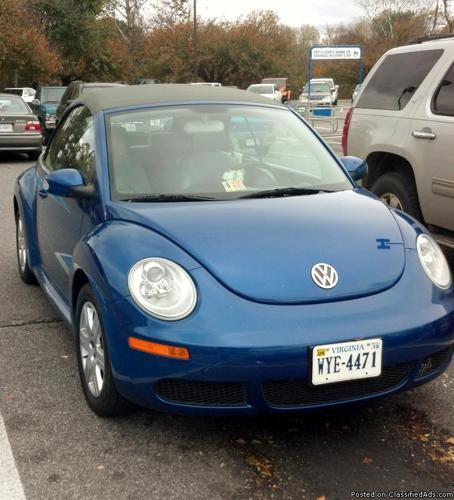 Volkswagen Bug For Sale: 2007 VW New Beetle CONVERTIBLE For Sale In Bedford