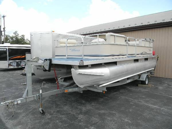East Fayetteville Auto Sales >> 2007 Weeres Pontoon Boat Cadet 4 Stroke 50 HP - for Sale ...