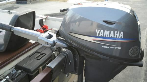 2007 Yamaha 20HP Tiller long Shaft Outboard - $2300