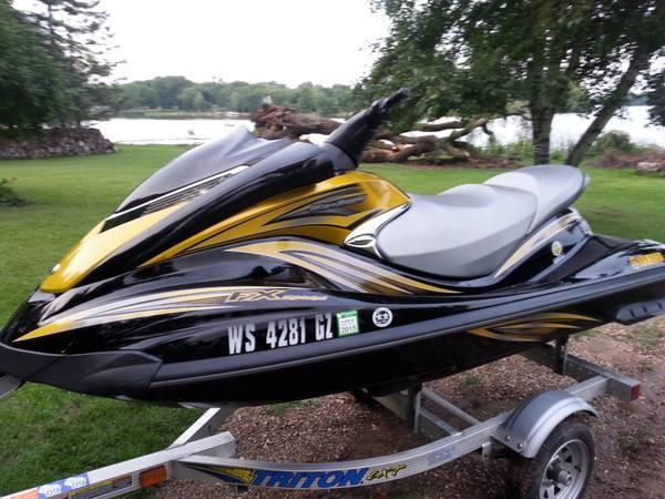 2007 yamaha fx ho 160hp jetski for sale in horicon for Yamaha fx jet ski