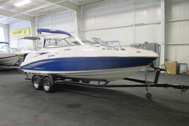 2007 yamaha sx 230 jet boat w twin 160 horsepower engines for Yamaha boat motor parts for sale