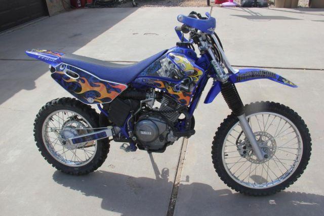 2007 yamaha ttr125l ttr 125 dirt bike trail bike