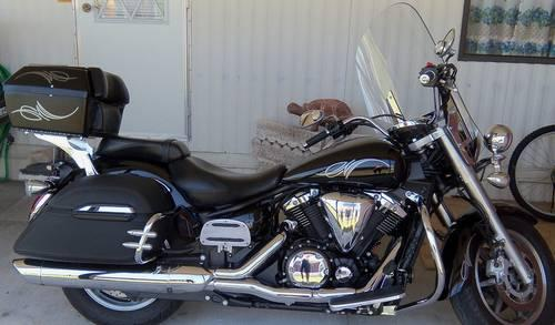 2007 Yamaha V-Star 1300T Touring Cycle