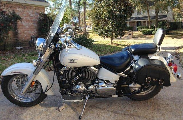 2007 yamaha v star 650 classic great condition low miles for Yamaha vstar 650 parts