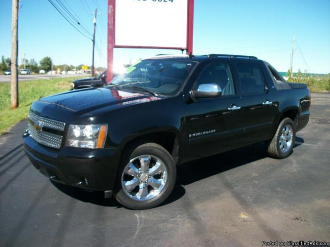 2007 chevrolet avalanche ltz 4wd for sale in lockport new york classified. Black Bedroom Furniture Sets. Home Design Ideas