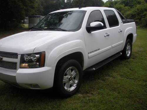 2007 chevy avalanche 4x4 z71 for sale in chester virginia classified. Black Bedroom Furniture Sets. Home Design Ideas