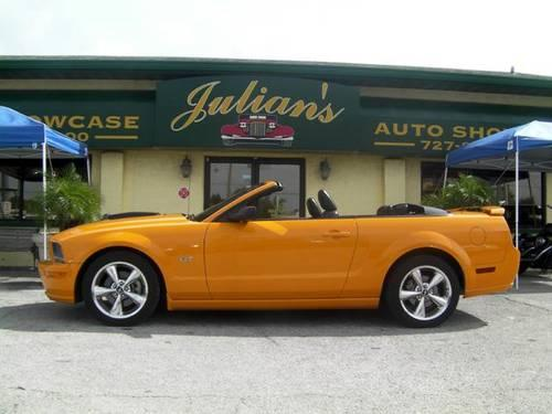 2007 ford mustang gt convertible for sale in new port richey florida classified. Black Bedroom Furniture Sets. Home Design Ideas