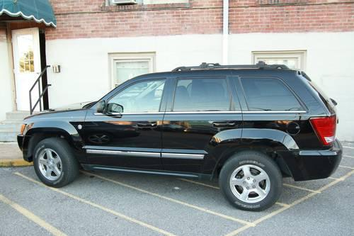 2007 jeep grand cherokee limited 5 7l hemi 83k mi for sale in nashville tennessee. Black Bedroom Furniture Sets. Home Design Ideas