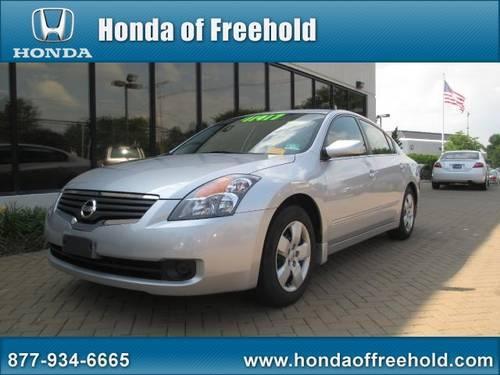 2007 nissan altima sedan sedan for sale in east freehold for Honda of freehold service