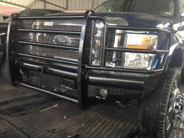 2008-2010 Ford F350 Heavy Duty Front & Rear Bumpers - for