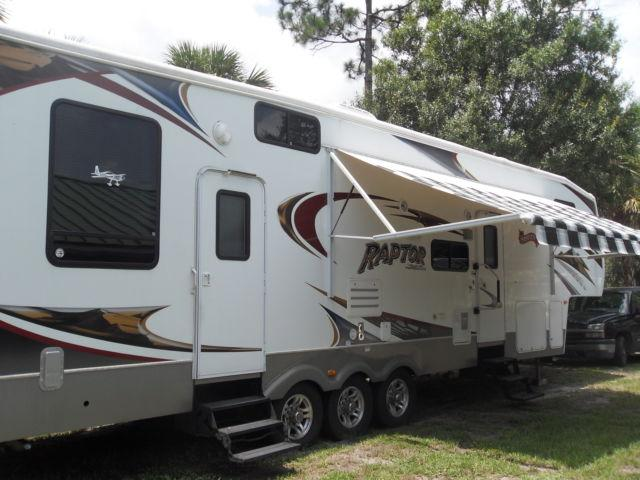 2008 5th wheel toy hauler for sale in fort pierce florida classified. Black Bedroom Furniture Sets. Home Design Ideas