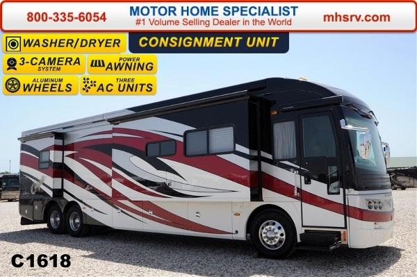 2008 American Coach American Eagle 42r Tag Axle With 4