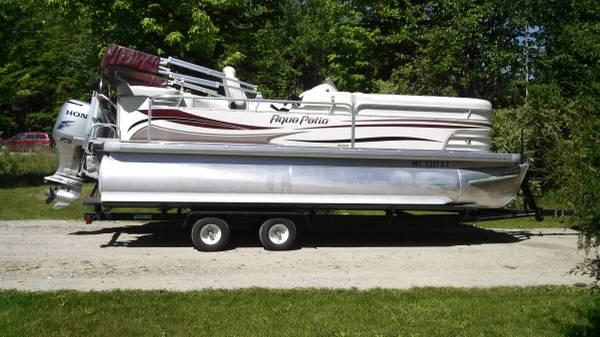 2008 Aqua Patio 20ft - $24000