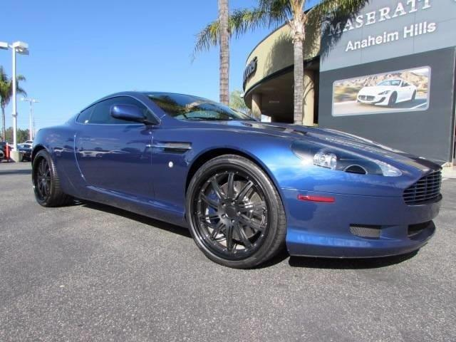 2008 Aston Martin DB9 Base 2dr Coupe (5.9L V12 6A)