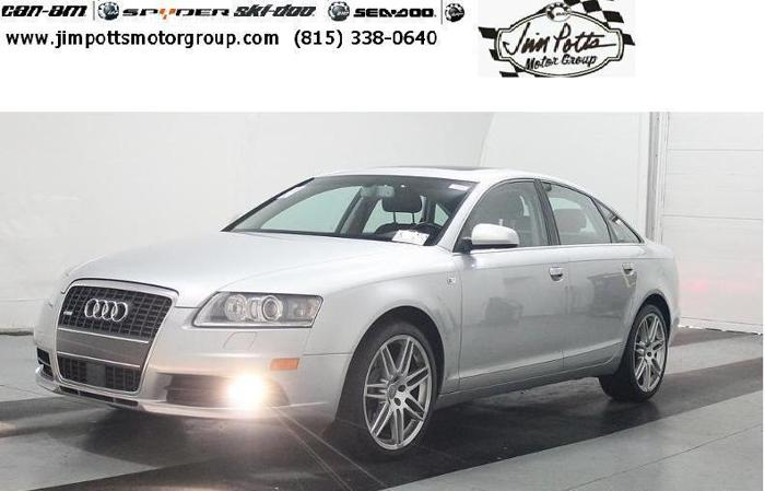 2008 Audi A6 V 8 All Wheel Drive In Silver For Sale In