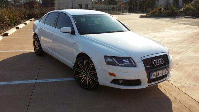 2008 audi a6 white for sale in guthrie north carolina classified. Black Bedroom Furniture Sets. Home Design Ideas