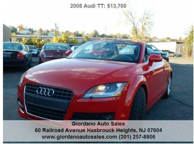2008 audi tt convertible for sale in hasbrouck heights new jersey classified. Black Bedroom Furniture Sets. Home Design Ideas