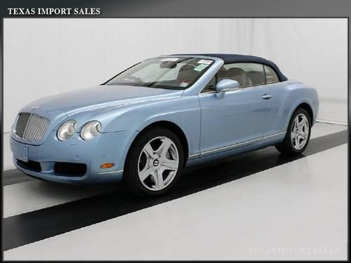 2008 bentley continental gt convertible convertible for sale in dallas texas classified. Black Bedroom Furniture Sets. Home Design Ideas
