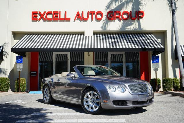 2008 Bentley Continental GTC Base AWD 2dr Convertible