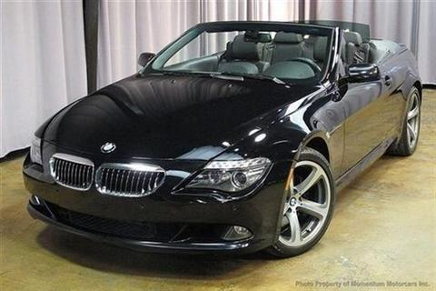 2008 bmw 6 series convertible 650i convertible 2d for sale in miami florida classified. Black Bedroom Furniture Sets. Home Design Ideas