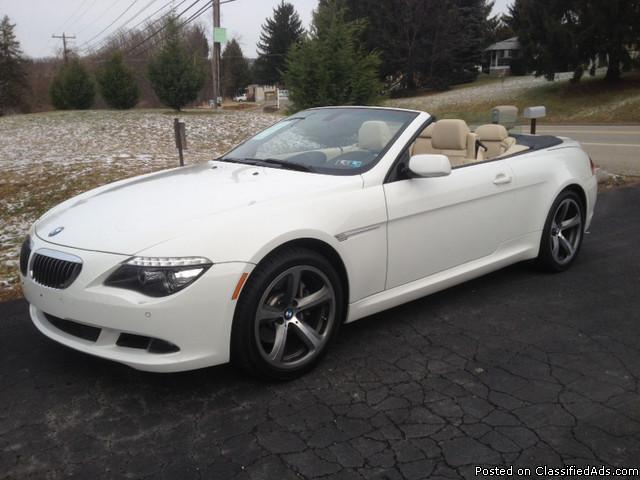 2008 Bmw 650 I Convertible For Sale In Connellsville
