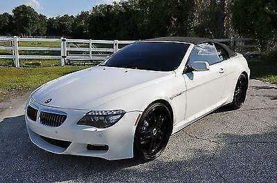 2008 BMW 650i Convertibe Black Leather Interior for Sale in Sarasota ...