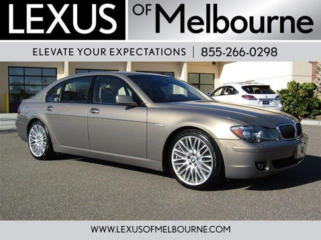 2008 BMW 7 Series 750Li 750Li 4dr Sedan