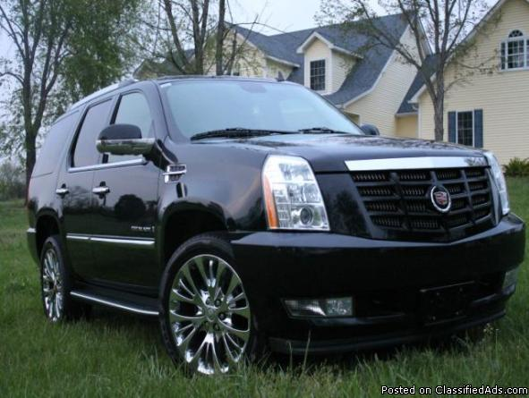 2008 cadillac escalade for sale in millwood kentucky classified. Black Bedroom Furniture Sets. Home Design Ideas