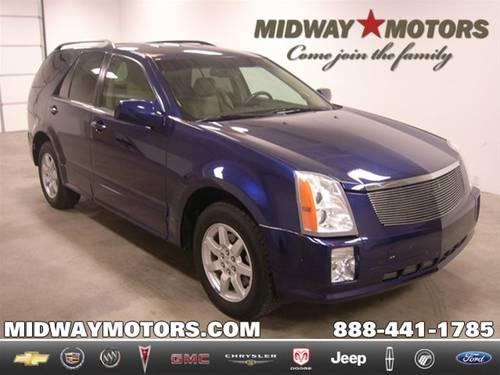2008 cadillac srx suv v6 for sale in conway kansas for Midway motors used car supercenter mcpherson ks
