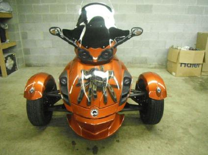 2008 Can Am Spyder Custom Sm5 For Sale In Kenilworth New