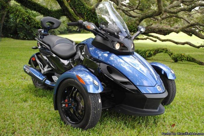 2008 can am spyder gs premier edition 2114 for sale in tampa florida classified. Black Bedroom Furniture Sets. Home Design Ideas