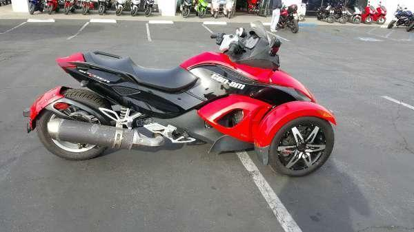 2008 can am spyder gs se5 for sale in whittier california classified. Black Bedroom Furniture Sets. Home Design Ideas