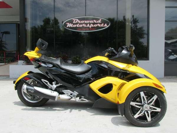2008 can am spyder gs sm5 for sale in west palm beach florida classified. Black Bedroom Furniture Sets. Home Design Ideas