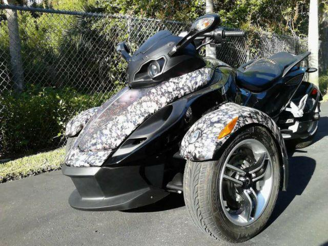 2008 can am spyder motorcycle for sale in saint petersburg florida classified. Black Bedroom Furniture Sets. Home Design Ideas