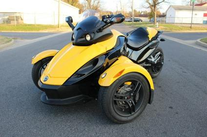 2008 can am spyder rs sm5 for sale in paducah kentucky classified. Black Bedroom Furniture Sets. Home Design Ideas