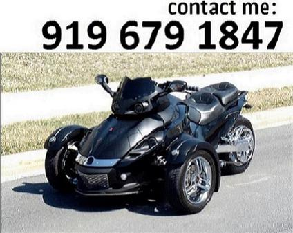 2008 can am spyder xfdfa for sale in concord north carolina classified. Black Bedroom Furniture Sets. Home Design Ideas