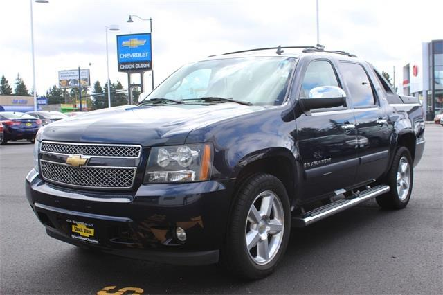 2008 chevrolet avalanche 1500 ltz seattle wa for sale in. Black Bedroom Furniture Sets. Home Design Ideas