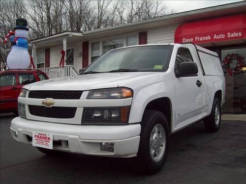 2008 Chevrolet Colorado Pickup Truck 2WD -w/CAP & COMPARTMENTS for ...